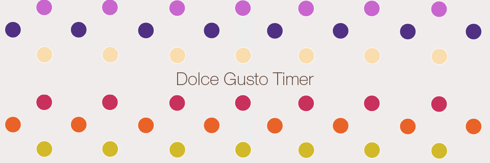 Dolce Gusto Timer iOs