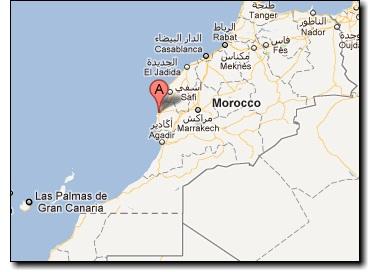 Essaouira - Carte