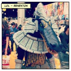 Japan Expo 2012 -  League of Legend Cosplay - Renekton