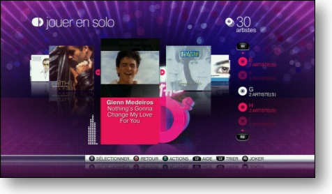 Singstar Back to the 80's - Carousselle PS3