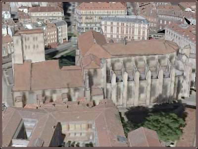 Live Earth: Toulouse: La cathédrale Saint Etienne