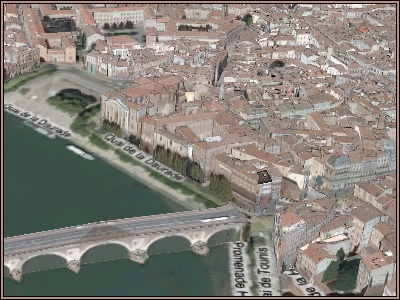 Live Earth: Toulouse: Le vieux pont / Esquirol